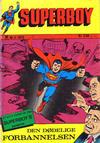 Cover for Superboy (Illustrerte Klassikere / Williams Forlag, 1969 series) #4/1973 [3/1973]