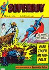Cover for Superboy (Illustrerte Klassikere / Williams Forlag, 1969 series) #3/1976
