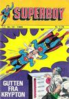 Cover for Superboy (Illustrerte Klassikere / Williams Forlag, 1969 series) #10/1969