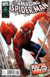 Cover for Spider-Man: You're Hired! (Marvel, 2011 series) #1