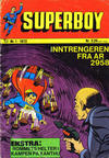 Cover for Superboy (Illustrerte Klassikere / Williams Forlag, 1969 series) #1/1972