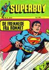 Cover for Superboy (Illustrerte Klassikere / Williams Forlag, 1969 series) #8/1973