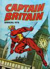 Cover for Captain Britain Annual (World Distributors, 1977 series) #1978