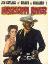 Cover for Jim Cutlass (Interpresse, 1981 series) #1 - Mississippi River
