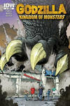Cover Thumbnail for Godzilla: Kingdom of Monsters (2011 series) #1 [Second Printing:  4-Color Fantasies Cover]