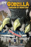 Cover for Godzilla: Kingdom of Monsters (IDW, 2011 series) #1 [Second Printing: Acme Superstore Cover]