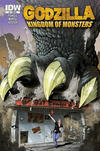 Cover for Godzilla: Kingdom of Monsters (IDW, 2011 series) #1 [Second Printing: Bat Comics Cover]