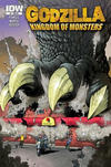 Cover for Godzilla: Kingdom of Monsters (IDW, 2011 series) #1 [Second Printing: Brave New Worlds Cover]