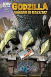 Cover for Godzilla: Kingdom of Monsters (IDW, 2011 series) #1 [Second Printing: Carol & John's Comic Book Shop Cover]