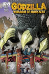 Cover for Godzilla: Kingdom of Monsters (IDW, 2011 series) #1 [Second Printing: Curious Comics 2 Cover]