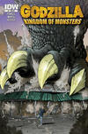 Cover for Godzilla: Kingdom of Monsters (IDW, 2011 series) #1 [Second Printing: Pittsburgh Comics Cover]