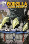 Cover for Godzilla: Kingdom of Monsters (IDW, 2011 series) #1 [Second Printing: Secret Headquarters Cover]