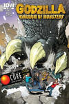 Cover Thumbnail for Godzilla: Kingdom of Monsters (2011 series) #1 [Second Printing: The Core Cover]