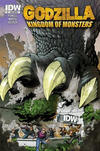 Cover for Godzilla: Kingdom of Monsters (IDW, 2011 series) #1 [Second Printing: IDW I Cover]