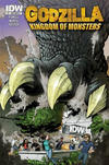 Cover for Godzilla: Kingdom of Monsters (IDW, 2011 series) #1 [Second Printing: IDW II Cover]