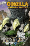 Cover for Godzilla: Kingdom of Monsters (IDW, 2011 series) #1 [Second Printing: IDW III Cover]