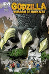 Cover for Godzilla: Kingdom of Monsters (IDW, 2011 series) #1 [Second Printing: IDW IV Cover]