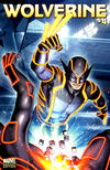 Cover for Wolverine (Marvel, 2010 series) #4 [Tron Variant]