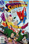 Cover for Adventures of Superman (DC, 1987 series) #496 [Newsstand]