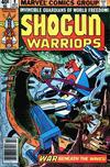 Cover for Shogun Warriors (Marvel, 1979 series) #9