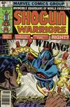 Cover for Shogun Warriors (Marvel, 1979 series) #17