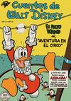 Cover for Cuentos de Walt Disney (Editorial Novaro, 1949 series) #22