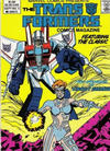 Cover for The Transformers Comics Magazine (Marvel, 1986 series) #5