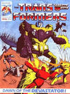 Cover for Transformers (Marvel UK, 1984 series) #36