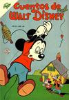 Cover for Cuentos de Walt Disney (Editorial Novaro, 1949 series) #48