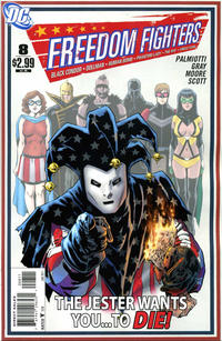 Cover Thumbnail for Freedom Fighters (DC, 2010 series) #8