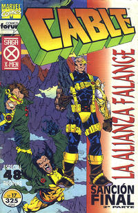 Cover Thumbnail for Cable (Planeta DeAgostini, 1994 series) #17