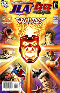 Cover Thumbnail for Justice League of America / The 99 (DC, 2010 series) #4