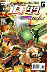 Cover Thumbnail for Justice League of America / The 99 (DC, 2010 series) #5