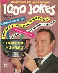 Cover Thumbnail for 1000 Jokes (Dell, 1939 series) #108