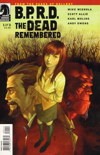 Cover Thumbnail for B.P.R.D.: The Dead Remembered (Dark Horse, 2011 series) #1 [Jo Chen variant cover]