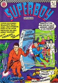 Cover Thumbnail for Superboy (Serieforlaget / Se-Bladene / Stabenfeldt, 1967 series) #3/1967
