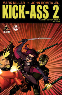 Cover Thumbnail for Kick-Ass 2 (Marvel, 2010 series) #2 [Variant Edition]