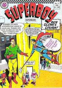 Cover Thumbnail for Superboy (Serieforlaget / Se-Bladene / Stabenfeldt, 1967 series) #9/1967