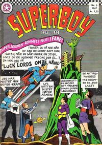 Cover Thumbnail for Superboy (Serieforlaget / Se-Bladene / Stabenfeldt, 1967 series) #6/1967