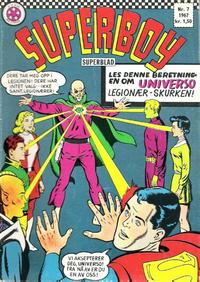 Cover Thumbnail for Superboy (Serieforlaget / Se-Bladene / Stabenfeldt, 1967 series) #7/1967