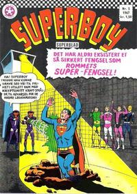 Cover Thumbnail for Superboy (Serieforlaget / Se-Bladene / Stabenfeldt, 1967 series) #5/1967