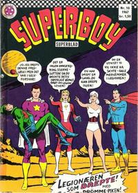 Cover Thumbnail for Superboy (Serieforlaget / Se-Bladene / Stabenfeldt, 1967 series) #10/1967