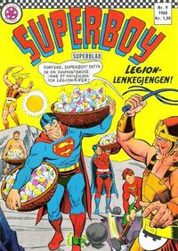 Cover Thumbnail for Superboy (Serieforlaget / Se-Bladene / Stabenfeldt, 1967 series) #9/1968
