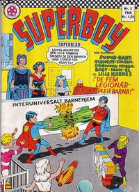 Cover Thumbnail for Superboy (Serieforlaget / Se-Bladene / Stabenfeldt, 1967 series) #5/1968