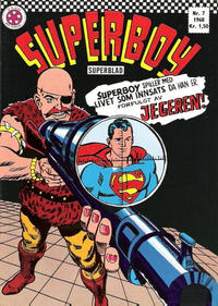 Cover Thumbnail for Superboy (Serieforlaget / Se-Bladene / Stabenfeldt, 1967 series) #7/1968
