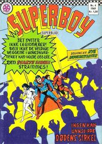 Cover Thumbnail for Superboy (Serieforlaget / Se-Bladene / Stabenfeldt, 1967 series) #4/1969