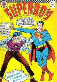 Cover Thumbnail for Superboy (Serieforlaget / Se-Bladene / Stabenfeldt, 1967 series) #6/1969