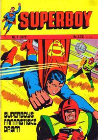 Cover Thumbnail for Superboy (Illustrerte Klassikere / Williams Forlag, 1969 series) #4/1972