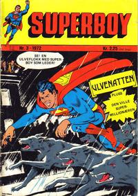 Cover Thumbnail for Superboy (Illustrerte Klassikere / Williams Forlag, 1969 series) #3/1972
