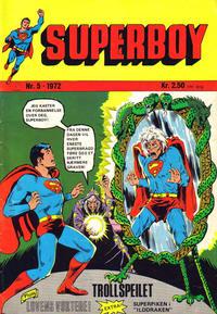 Cover Thumbnail for Superboy (Illustrerte Klassikere / Williams Forlag, 1969 series) #5/1972